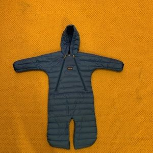 Patagonia Baby Down Sweater Bunting, 6 months